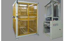 Roller accumulator – Silicone spreading – Off-line machines